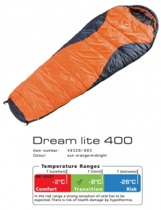 Спальник Deuter Dream Lite 400