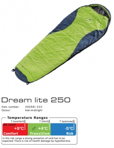 Спальник Deuter Dream Lite 250