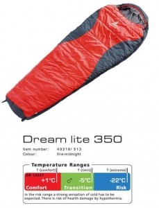 Спальник Deuter Dream Lite 350