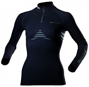 X-BIONIC Energizer LADY SHIRT LONG Sl UP-ZIP I20235